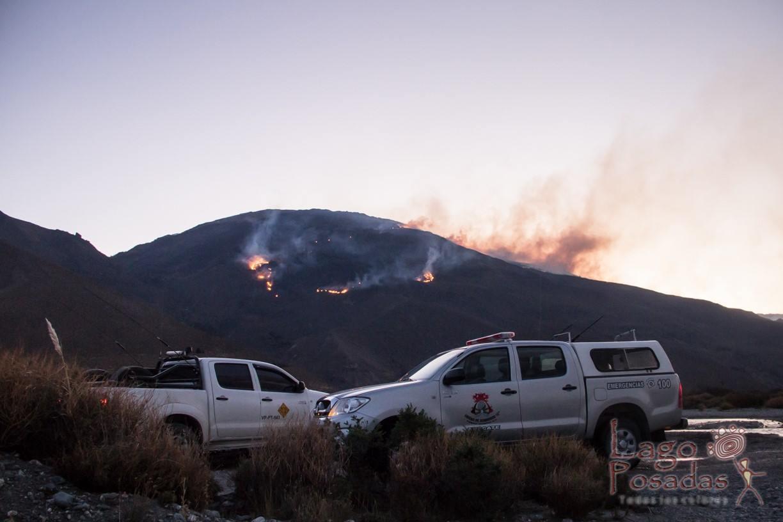 incendio Lago Posadas