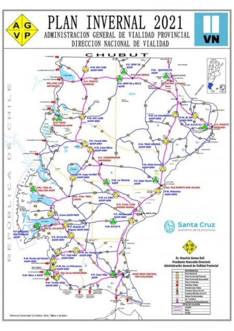 Vialidad Mapa