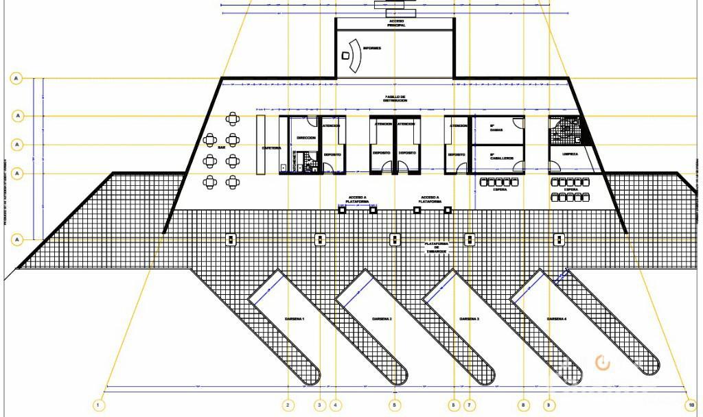 terminal omnibus Tres Lagos plano [AUDIO FMD]