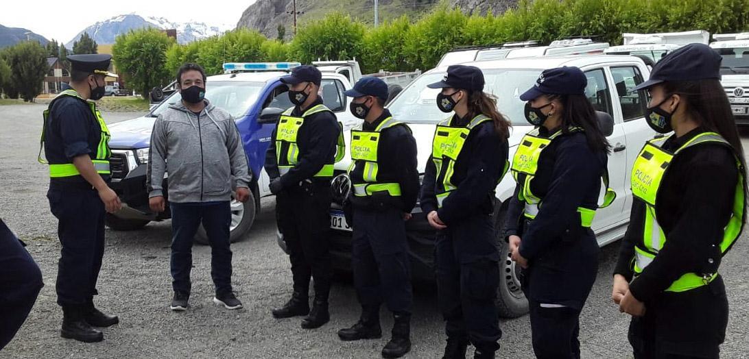 policias En el Chalten 4