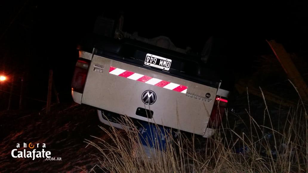 vuelco camioneta [FMD Fotos]