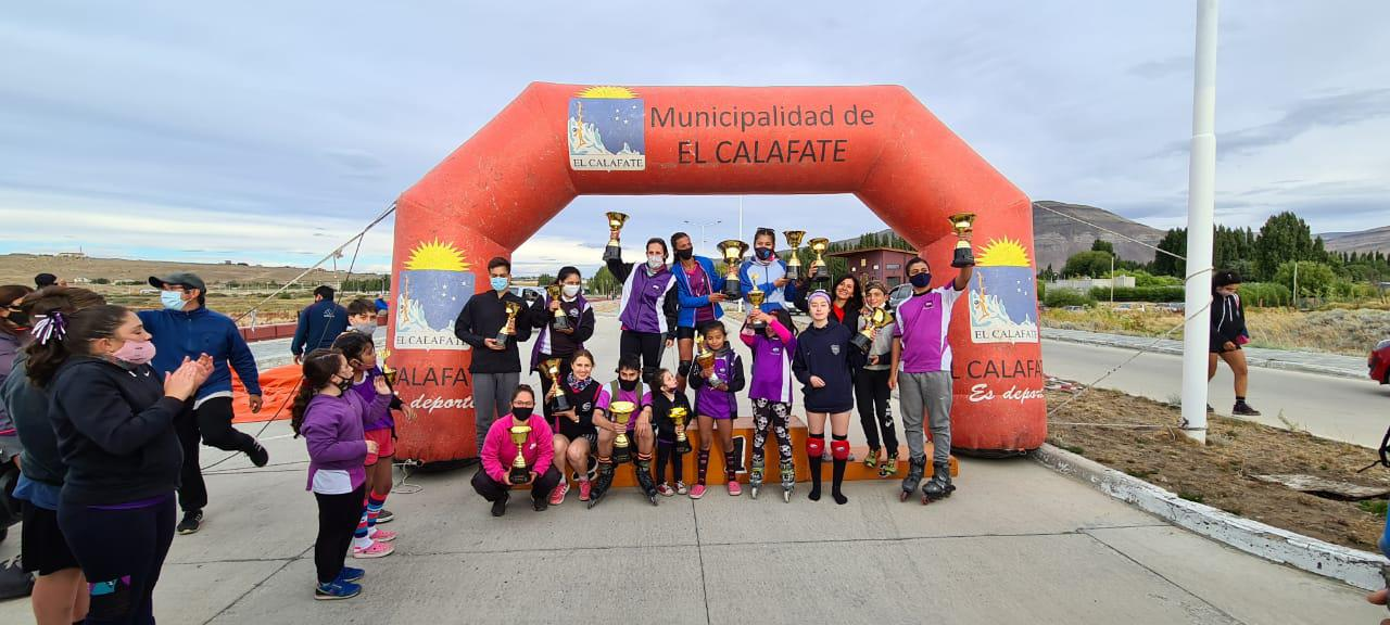Patin Carrera podio 2021
