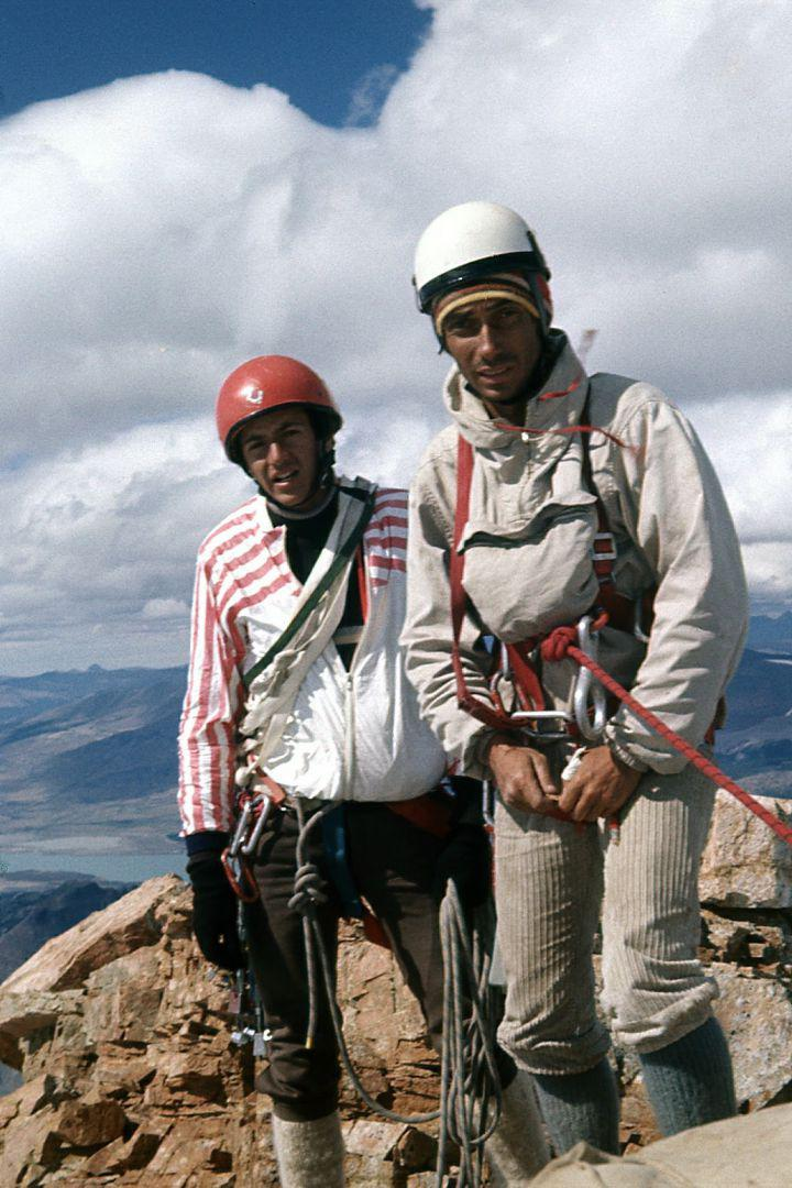 Mario González y Juan Pablo Nicola en Dedo del César