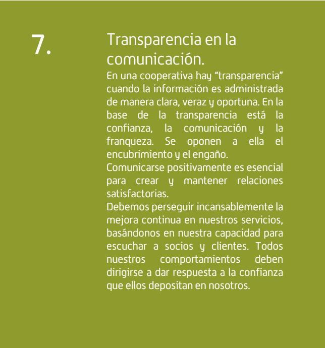 Cotecal. Transparencia en la comunicacion