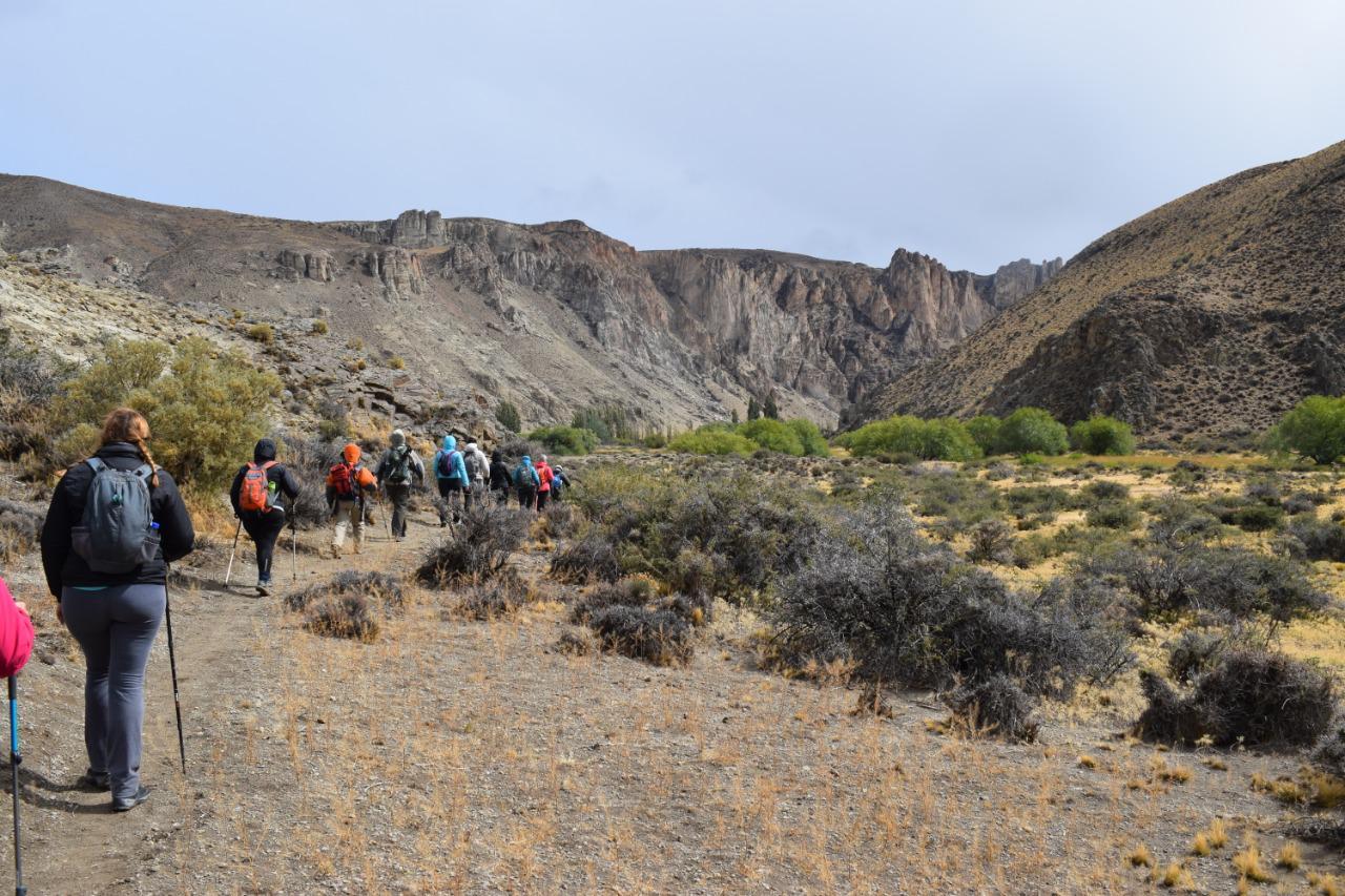 El Club Andino Lago Argentino y AGUISAC visitaron el Parque Patagonia 07