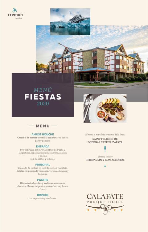 Calafate Parque Hotel Fiestas 2020